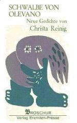Christa Reinig | Schwalbe von Olevano